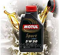 Моторное масло Motul Sport 5w50 (1L)