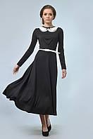 Романтичное платье прилегающего силуэта