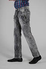 Red Ford джинсы серые, ровные мужские летние, фото 2