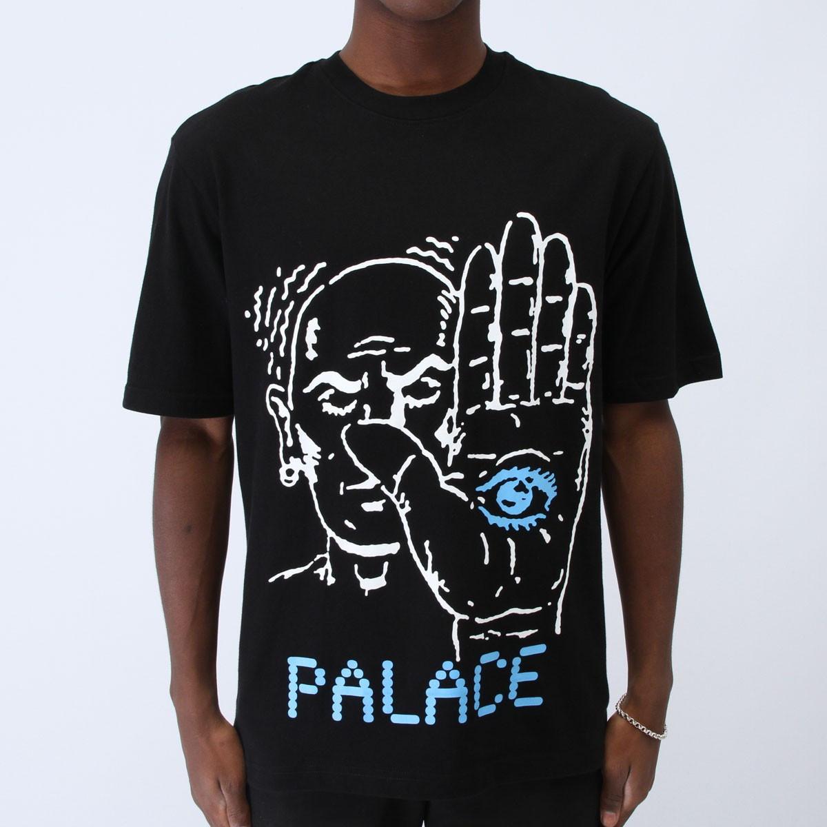 Футболка мужская с принтом Palace talk_to_the_hand