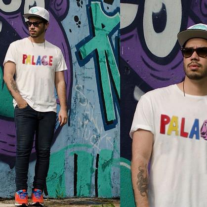 Футболка Palace | мужская с принтом