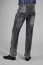 Серые джинсы мужские Red Ford, ровные, варка, фото 3