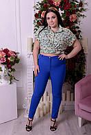 Женские брюки большого размера в разных расцветках u-t10151296