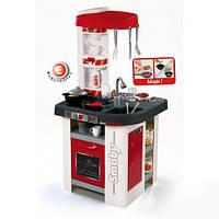 Интерактивная детская кухня Mini Tefal Studio Red 2015  Smoby - Франция - 27 элементов в наборе посуды