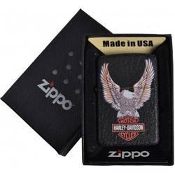 Зажигалка бензиновая Zippo HARLEY-DAVIDSON в подарочной упаковке №4736-3 реплика