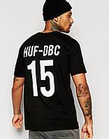Футболка мужская с принтом HUF x Thrasher Team