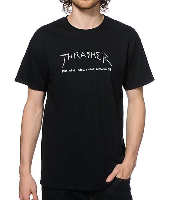 Футболка мужская стильная Thrasher New Religion