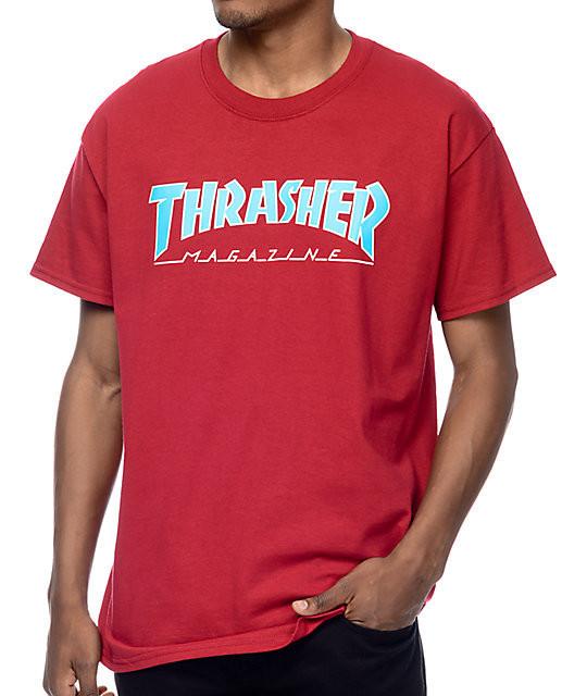 Футболка с логотипом Thrasher MAGAZ мужская