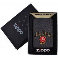 Зажигалка бензиновая Zippo Jim Beam в подарочной упаковке №4735-1