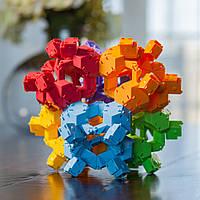 Конструктор-головоломка Черепашки акробаты Reptangles, Fat Brain Toy Co