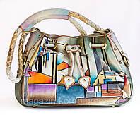 Модельная сумка кожа