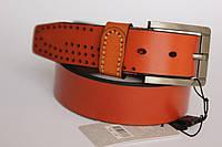 Кожаный ремень для мужчин, 135/108 (цена за 1 шт. + 27 гр.)