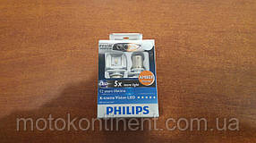 PY21W Лампочки поворота Philips X-treme Vision PY21W 12V 4W BAU15S С ВНЕШНИМ СОПРОТИВЛЕНИЕМ 12764RX2