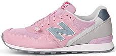 Женские кроссовки в стиле New Balance 996 Pink