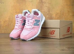 Женские кроссовки в стиле New Balance 996 Pink, фото 2