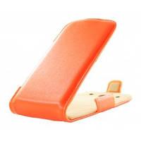 Чехол-флип на телефон HTC Desire 600 оранж