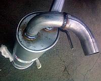Оригинальный глушитель Опель Астра J Bosal 185-199. Задний глушитель Opel Astra J БОСАЛ 185199 ASTRA-J