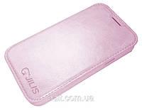 """Чехол HTC One 802t, """"Jilis"""" Pink, фото 1"""