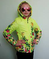 Куртка для дівчинки демісезонна 34