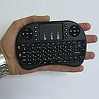 Беспроводная мини клавиатура USB с тачпадом на аккумуляторе, фото 5