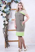 Платье из льна Марти р 50,52,54,56