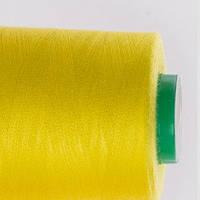 Нитки швейные 40/2 400 ярдов желтые