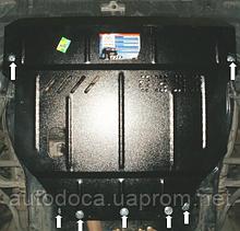 Защита картера двигателя и кпп BYD F6 2008-