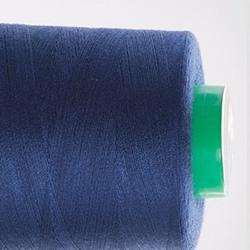 Нитки швейные 40/2 400 ярдов №284 темно-синие