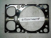 Прокладка головки блока цилиндров двигателя WD615 #61500040049 прокладка гбц