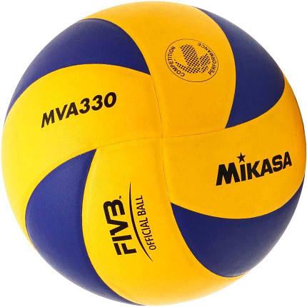 Мяч волейбольный Mikasa MVA 330 (оригинал), фото 2