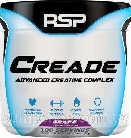 Креатиновая смесь RSP Nutrition CreAde 100 порц. (5 видов креатина)