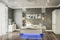 Модульная система (спальня) Бианко (Світ Меблів TM)