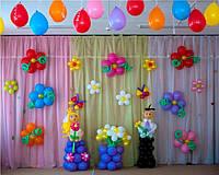 Выпускные в детском саду из шаров