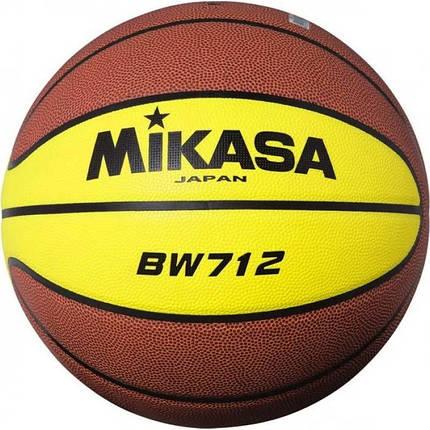 Мяч баскетбольный Mikasa BW712 p.7, фото 2
