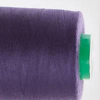 Нитки швейные 40/2 400 ярдов №172 темно-фиолетовые