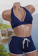 Женский купальник с шортами 39736