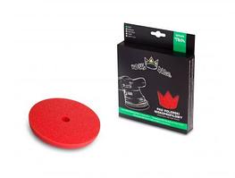 Royal Thin Soft Pad 80mm только для DA Финишный круг, для антиголограммной полировки. КРАСНЫЙ