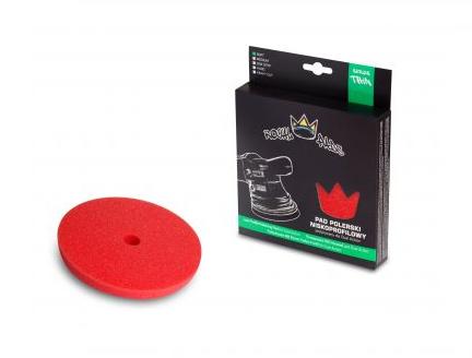 Royal Thin Soft Pad 130mm только для DA Финишный круг, для антиголограммной полировки. КРАСНЫЙ