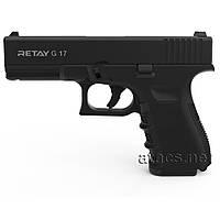 Пистолет стартовый Retay G 17 Black, фото 1