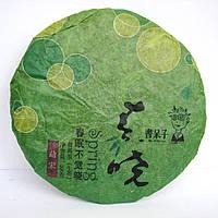 Чай Шен Пуэр Spring Mengson gот завода Хун Дэ (200 гр.) 2012 г., 25 грамм