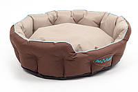 Лежак Природа Босфор 2, сумочная ткань, 82х65х18 см, фото 1