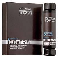 L'Oreal Professionnel Cover 5' - Безаміачний тонуючий гель для волосся 50 мл. #6 (темний блондин)