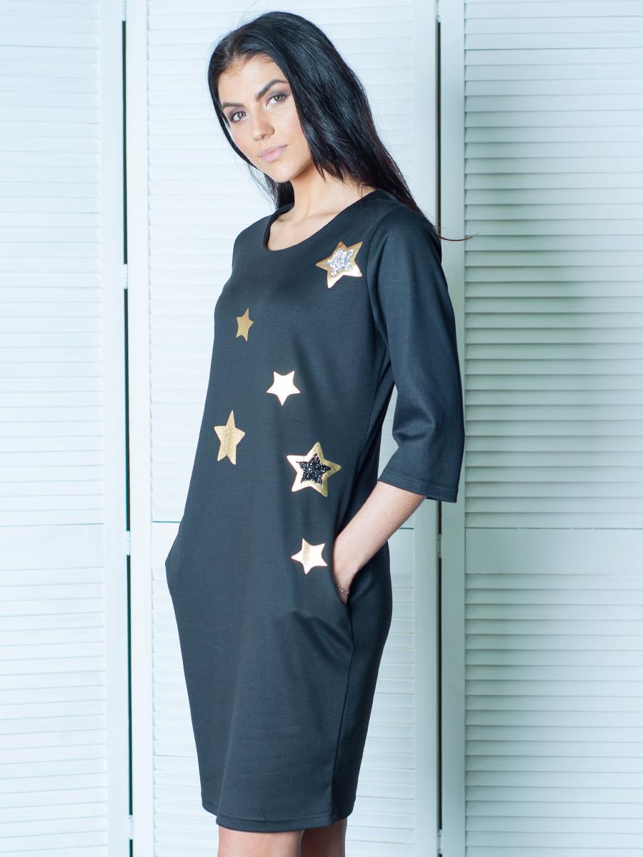 Модне жіноче плаття з кишенями Диско 46