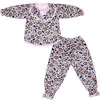 Пижама для девочек теплая