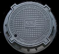 Люк канализационный чугунный легкий с запорным устройством класс А15