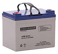 Свинцово-кислотный аккумулятор CHALLENGER A12-33/35
