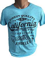 Футболка мужская california (лето)