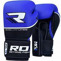 Боксерські рукавички RDX Quad Kore Blue 12 ун., фото 1