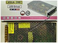 Блок питания 200W 17A VEGA-200 Horoz Electric