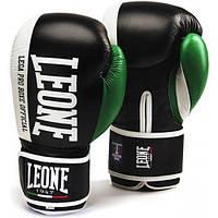 Боксерские перчатки Leone Contender Black 18 ун.